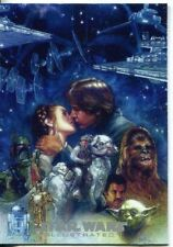 Star Wars Empire Strikes Back Illustrated Movie Poster Chase Card MP-2