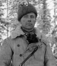 "French Foreign Legion Finnish Soldier Aarne Juutilainen 1939 10x8"" Reprint Photo"