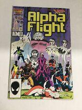 Alpha Flight 33 Nm Near Mint Marvel Comics
