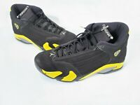 Nike Air Jordan Retro 14 SE Black yellow Size 12