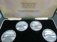Railway Act 1921 Commemorative Medal Set MALLARD KING GEORGE V CORONATION TRAINS
