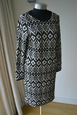 NEW MARKS AND SPENCER JERSEY DRESS with stretch  SIZE 12  Regular