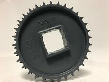 """INTRALOX SPROCKET 1100 S1100 1 1/2"""" SQUARE BORE SPROCKET 32 TOOTH 6.1"""" PD 2 ROW"""