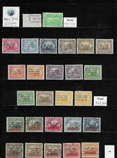 WC1_9006. NICARAGUA. Valuable lot of 1932-36 air mail stamps & sets. Used/MH
