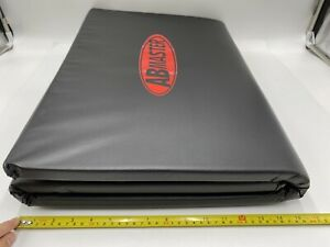Abmaster Yoga Mat Exercise Black 1 Pack New