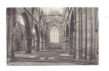 Vintage postcard The Choir, Haddington Abbey, Surrey. pmk Haddington 1905