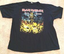 Iron Maiden Holy Smoke Black Tshirt Heavy Metal Music Unisex XXL 2XL 100% Cotton