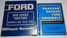 Ford 1310 1510 1710 Tractor Service Shop Repair Workshop Manual Original Se4301