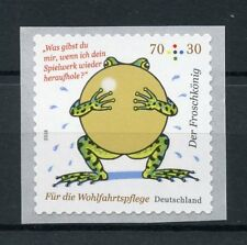 Germany 2018 MNH Frog Prince Brothers Grimm 1v S/A Coil Set Cartoons Stamps