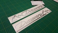 Discovery series 1 & 2 Tdi Td5 V81  Side Mountain decals stickers graphics 290mm
