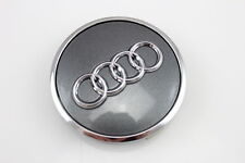 1x Original Audi grau metallic Radzierkappe Felgendeckel Nabendeckel 8W0601170