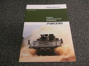 Armored Tracked Vehicle Brochure ASCOD General Dynamics 2016 Military Defense