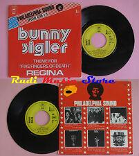 LP 45 7'' BUNNY SINGLER Five fingers of death Regina 1973 france EPIC cd mc dvd