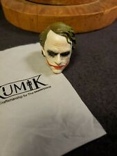 "New Kumik The Joker HEAD ONLY 1/6 Scale Figure 12"" HOT TOYS Heath Ledger"