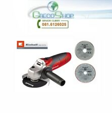 Smerigliatrice angolare/115mm 850W + 2 Dischi diamantati Einhell - TC-AG 125 Kit