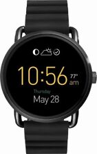 Fossil Q Gen 2 Wander Black Silicone Strap Touchscreen Smart Watch 45mm FTW2103