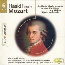 CLARA HASKIL SPIELT MOZART (2007 CLASSICAL 6x CD BOX DGG)