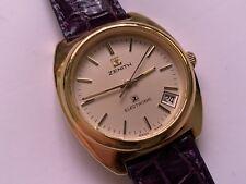 beautiful vintage zenith electronic 12 jewel date wristwatch 🇨🇭
