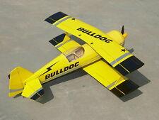 Super Pitts Model-12 (Yellow) Bi-plane RC ARF (XY-297)
