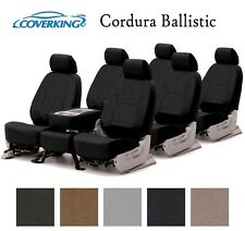 Coverking Custom Seat Covers Ballistic Canvas 3 Row Set - 5 Color Options