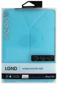 Brand New Original INCIPIO LGND Hard Shell Case for Apple iPad Air - Light Blue