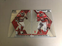 2020 PANINI MOSAIC CLYDE EDWARDS-HELAIRE BASE AND NFL DEBUT LOT ROOKIE CHIEFS