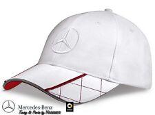Mercedes Benz Cap Schirmmütze Mütze Basecap weiß rot B66952925 neu
