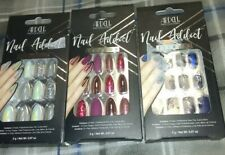 Ardell Nail Addict False Nails Holographic Glitter 24 Count