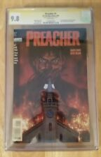 Preacher #1 CGC 9.8 SS - Signed by Garth Ennis 1st full app Jesse Custer Tulip