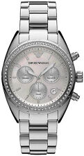 NEU Emporio Armani ar5959 Ladies Crystal Watch - 2 Jahr Garantie