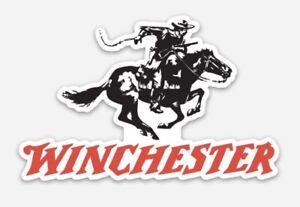 Winchester Custom Logo Die Cut Magnet for Fridge or Toolbox Firearms Gun
