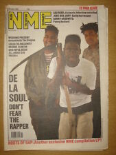 NME 1989 OCT 21 DE LA SOUL WEDDING PRESENT LOU REED