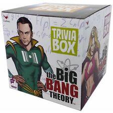 THE BIG BANG THEORY Trivia Box Card Game with Bonus Sitcom Characters Cards NEW
