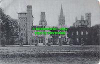 R552700 Cardiff Castle. Alumino. 1905