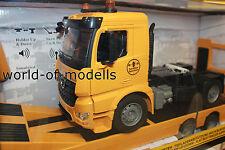 Jamara 405107 Tieflader mit Zugmaschine Mercedes Arocs 1:20 2,4G    NEU in OVP
