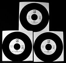 QUEEN~Lot Of 3 Rare Radio Station Promotional White Label 45's~Freddie Mercury