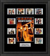 Oceans Eleven Framed 35mm Film Cell Memorabilia Filmcells Movie Cell Presentatio