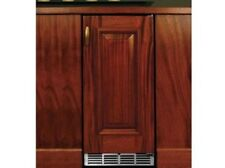 "Perlick 15"" Signature Series SS Frig w/integrated wood overlay #HP15RS-3-2L"