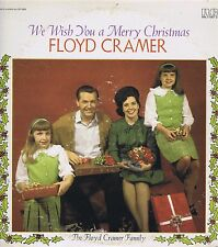 FLOYD CRAMER We Wish You a Merry Christmas Vinyl 33 LP Holiday Album EX Stereo