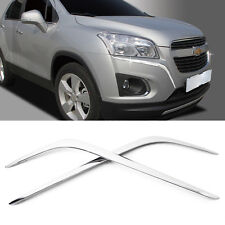 Chrome Front Bumper Garnish Molding Trim C703 For CHEVROLET 2013-2017 Trax Gsuv