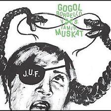 Gogol Bordello vs. Tamir Muskat J.U.F. CD Gypsy disco punk dub Balkan accordion