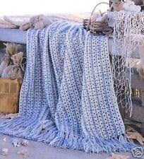 Livret motif crochet-bord de mer Cottage Afghans - 6 Designs-leisure arts