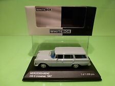 WHITEBOX 183618 MERCEDES BENZ 230S UNIVERSAL 1967 - GREY 1:43 - NEAR MINT IN BOX