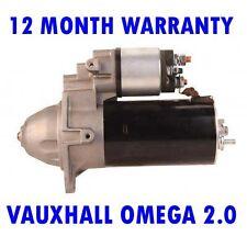 VAUXHALL OMEGA 2.0 2.2 1998-2003 RMFD STARTER MOTOR 12 MONTH WARRANTY