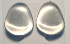 MID CENTURY Sterling 925 Modernist ABRAHAM PAZ EARRINGS Mexico