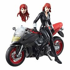 IN STOCK! Marvel Legends Series 6-inch Black Widow with Motorcycle BY HASBRO