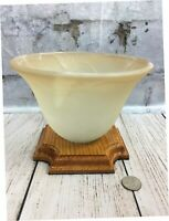 Handmade Botanical Vase Wood Glass Bowl Make Do Modern Folk Art