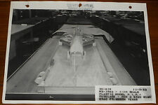 Rare Lockheed CVAC 1/10 Scale MX-1964 Model Fuselage Pod Stud Wing Photo 1953