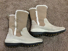 Columbia Tan Brown Water Resistant Womens Size 8 Warm Boots ~ USED