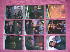 Babylon 5 Season 5 X9 River of Souls chase cards Fleer/SkyBox 1998 VFN